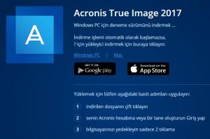 Acronis True image ile Yedek Alma 34
